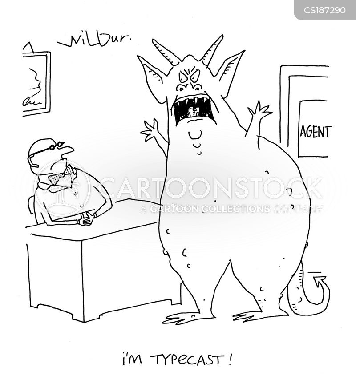 typecast cartoon