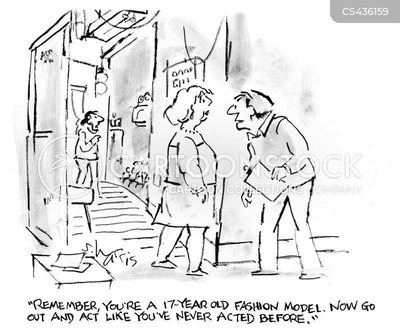acting skills cartoon