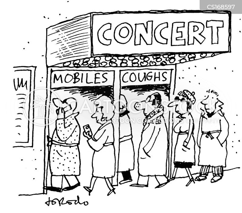 coughing cartoon