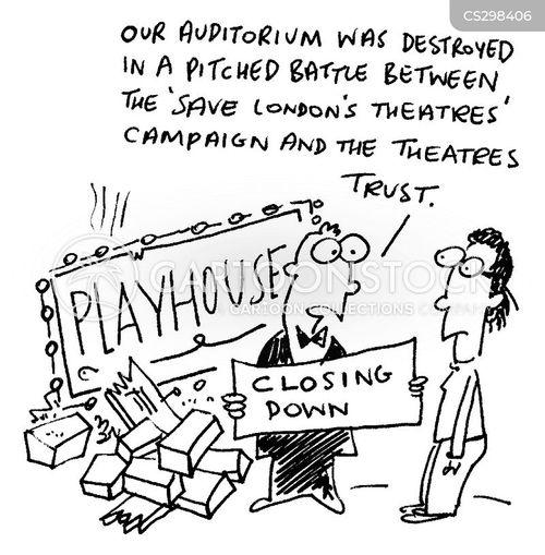 self-destructive cartoon