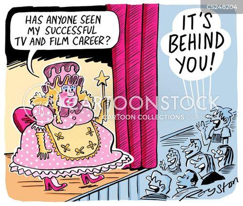 has-been cartoon