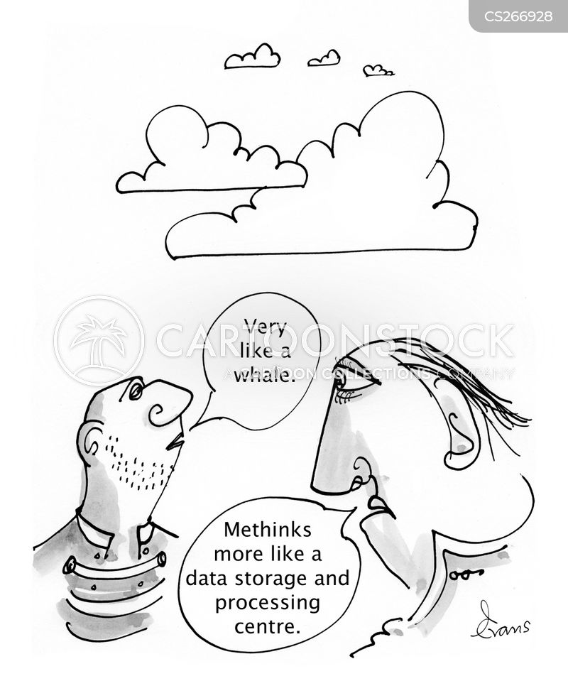 cloud spotter cartoon