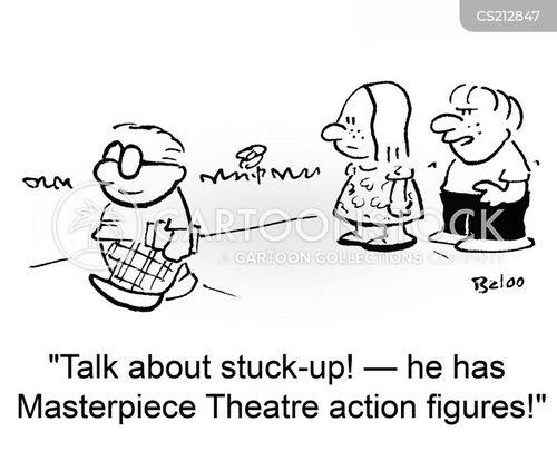stuck-up cartoon