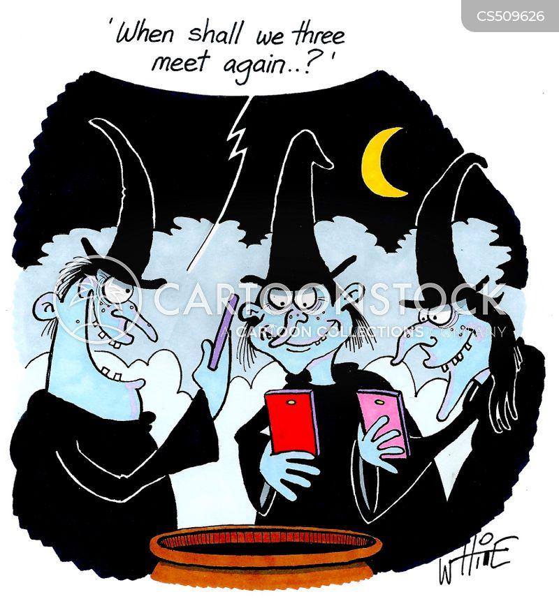 weird sisters cartoon