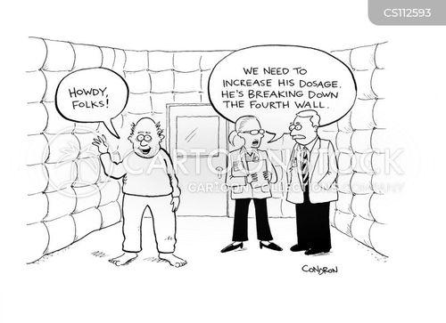 fourth wall cartoon