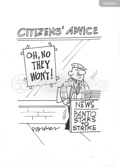 stikes cartoon