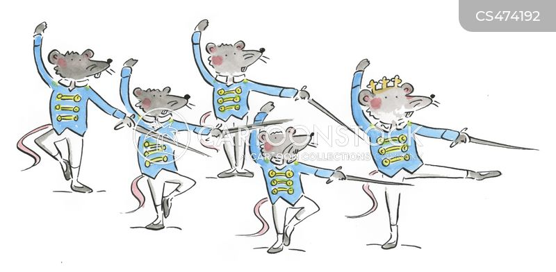 ballet performance cartoon