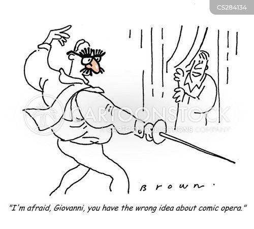 comic opera cartoon
