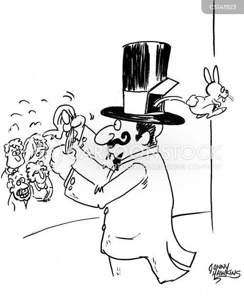 magicians hat cartoon