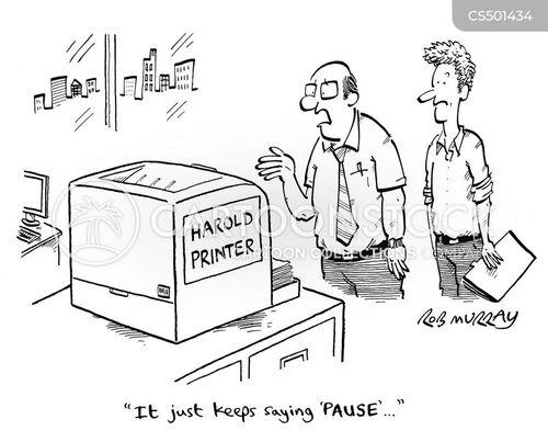 dramatic pause cartoon