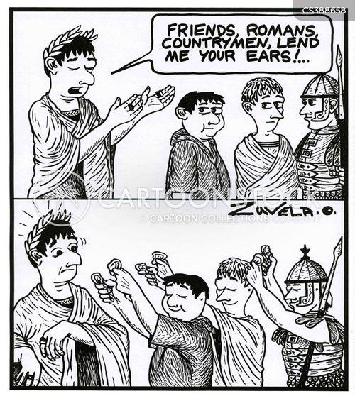 famous speech cartoon