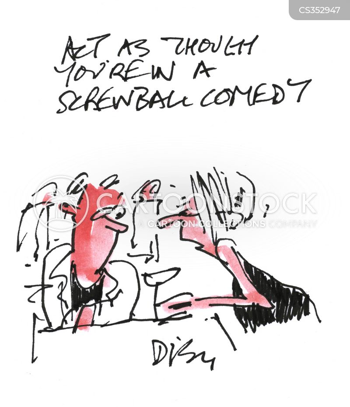 screwball comedies cartoon