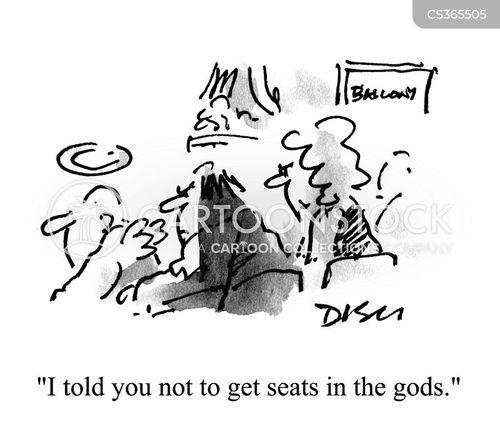 seating arrangement cartoon