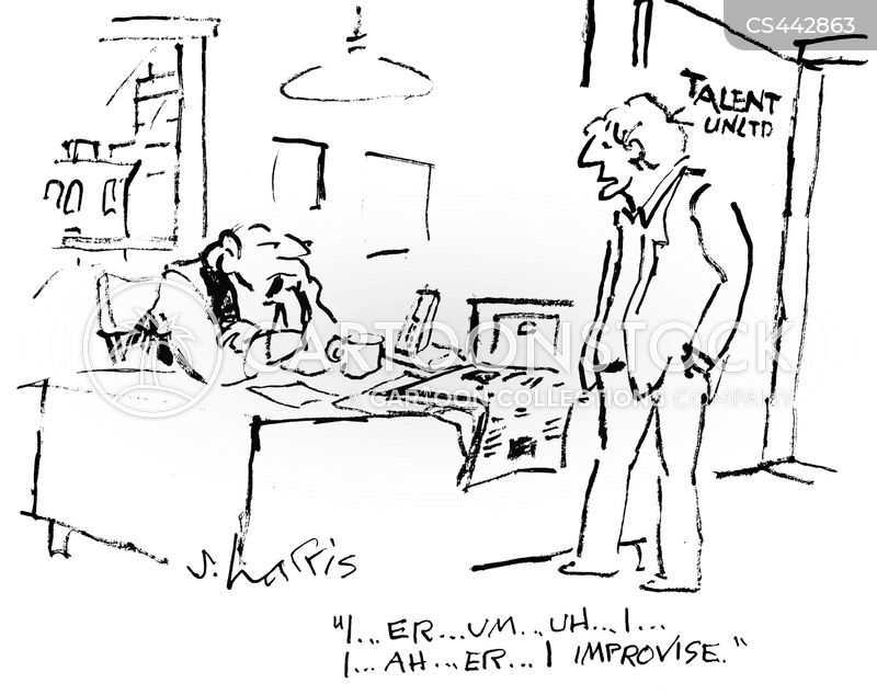 improvs cartoon