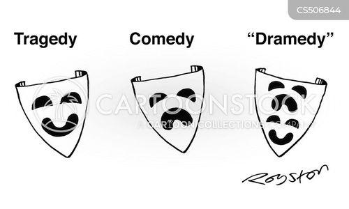 greek tragedy cartoon