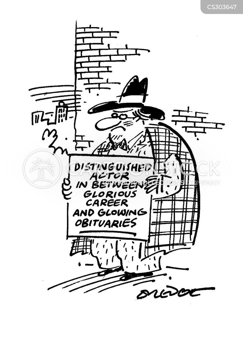 thespian cartoon