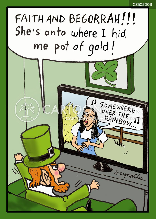 irish mythology cartoon