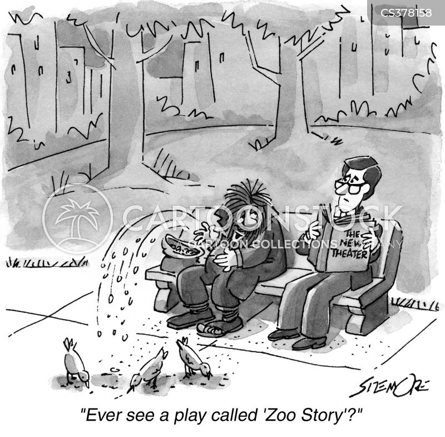 theatre production cartoon