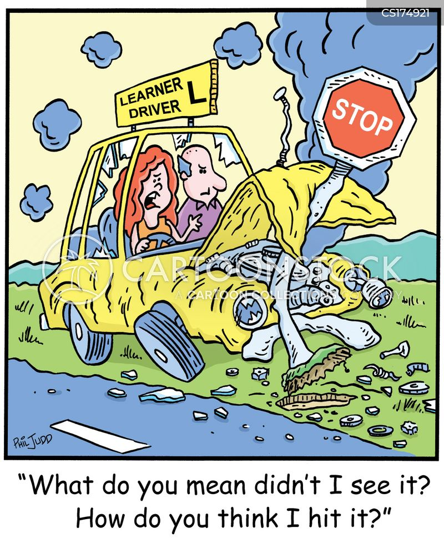 women drivers cartoon