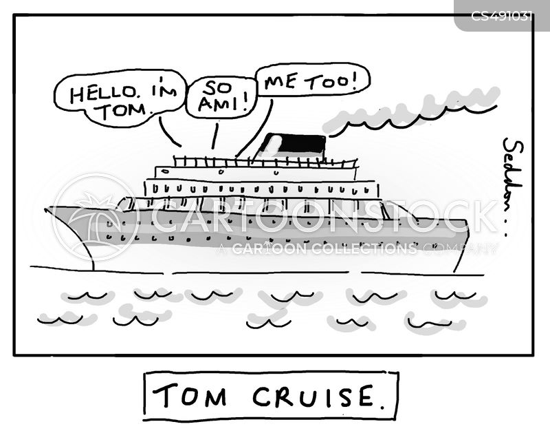 tom cruise cartoon