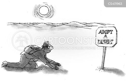adopt a highway cartoon