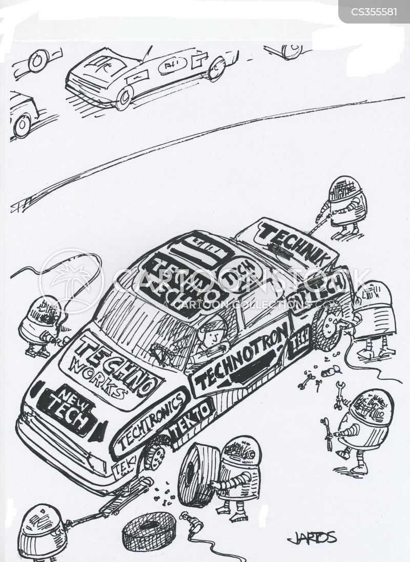 wheel changes cartoon