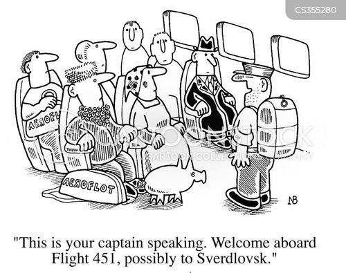 air safety cartoon