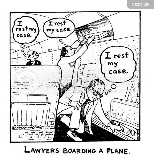 boarding cartoon