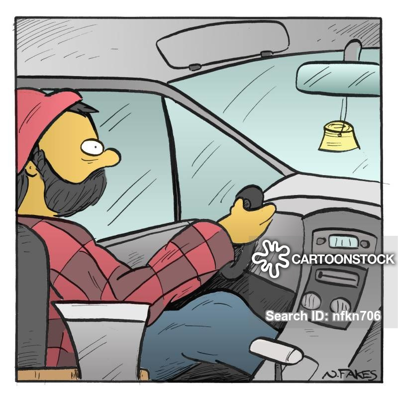 car accessories cartoon