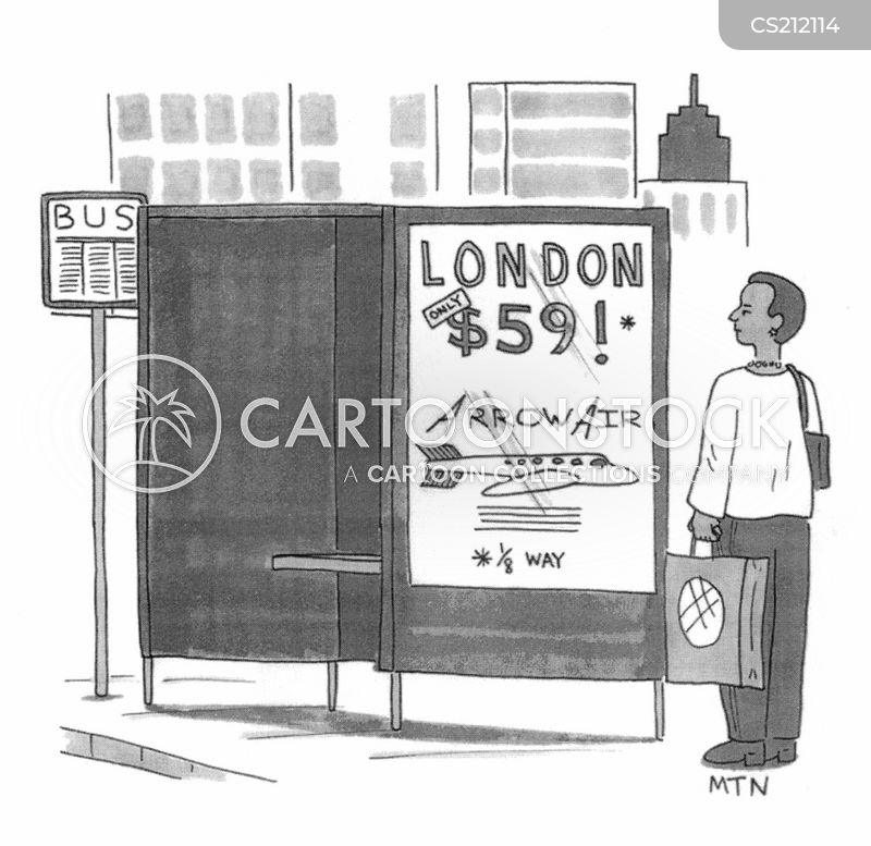 airfare cartoon