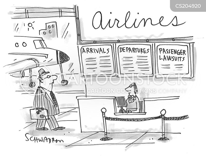 air travellers cartoon