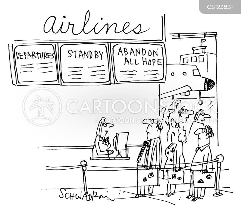 stand-by cartoon