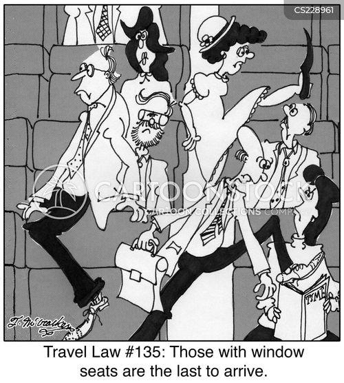 window seats cartoon