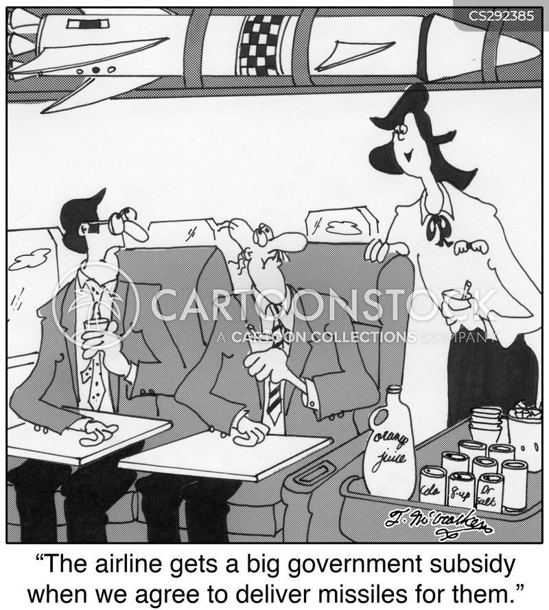 government subsidy cartoon