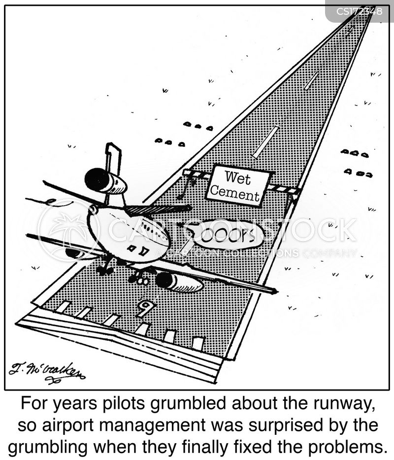 take-off cartoon