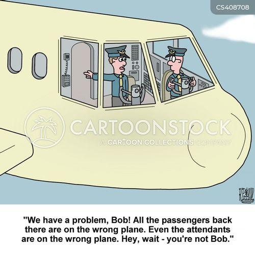 air transport cartoon