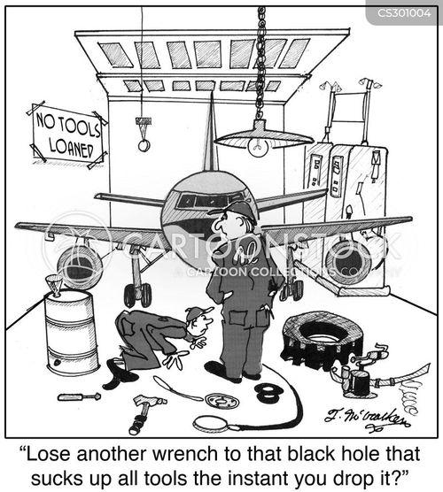 hangars cartoon