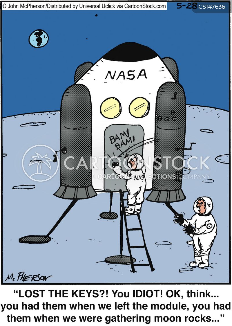 Astronaut Cartoons and Comics - funny pictures from ...