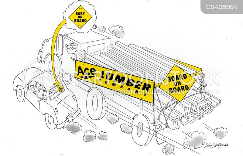 lumber-jacks cartoon