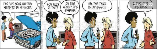 fraudulence cartoon