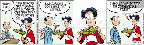 bad gifts cartoon
