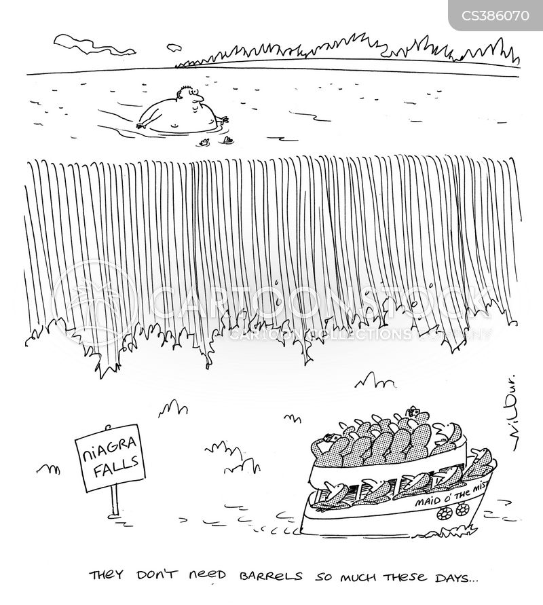 Niagara Cartoons And Comics Funny Pictures From Cartoonstock Niagara Falls Coloring Page