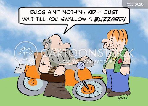 hells angel cartoon