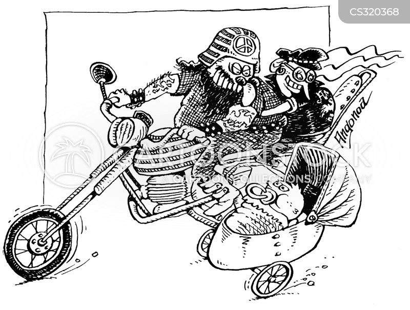 side car cartoon