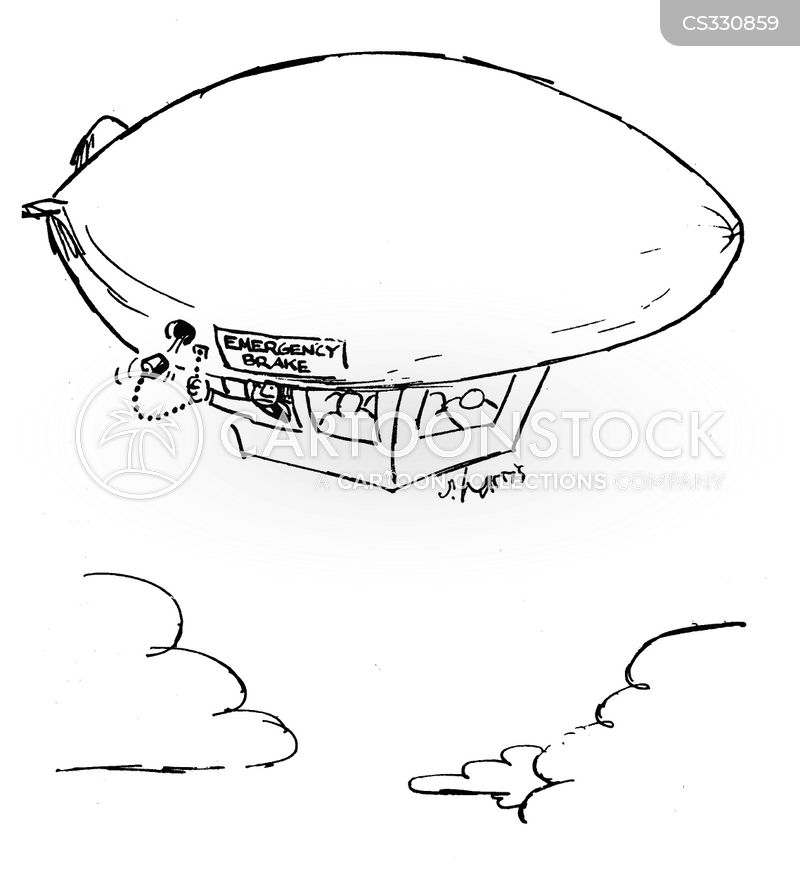dirigibles cartoon