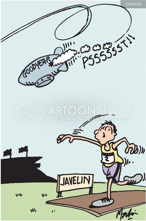 airship cartoon