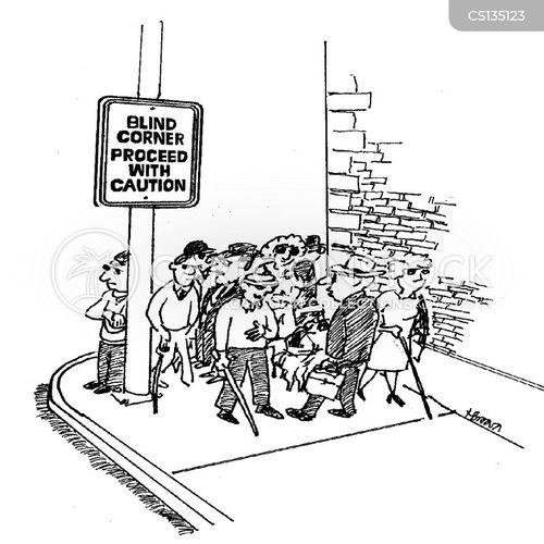 proceeding cartoon