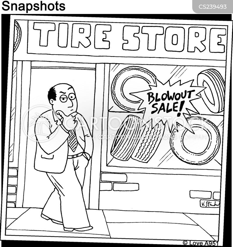 blow out cartoon