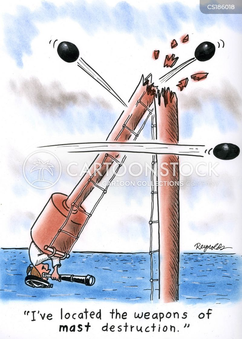 masts cartoon