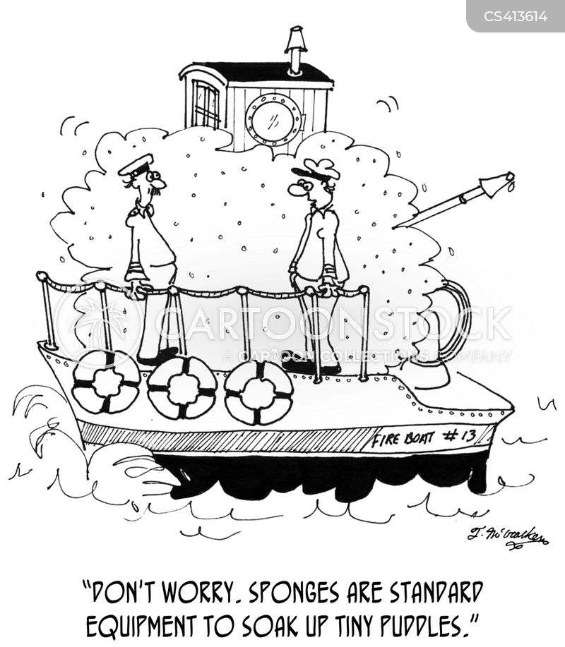 boater cartoon